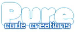 Pure Code Creations - Web development